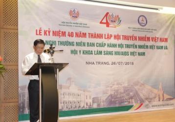 Lễ kỷ niệm 40 năm thành lập Hội Truyền nhiễm Việt Nam & Thành lập Liên Hiệp Hội Bệnh Nhiệt Đới và Ký Sinh Trùng khu vực ASEAN