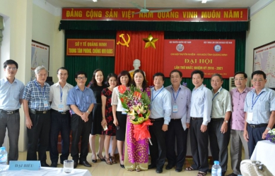 Đại hội Chi hội Truyền nhiễm - HIV/AIDS tỉnh Quảng Ninh lần thứ nhất, nhiệm kỳ 2016-2021