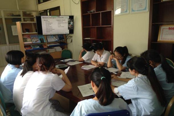 Tổ chức đào tạo trực tuyến chuyên nghành điều dưỡng tại BV Bệnh Nhiệt đới TW