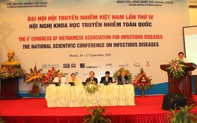 Đại hội hội truyền nhiễm Việt Nam lần thứ IV và hội nghị khoa học truyền nhiễm toàn quốc 2011