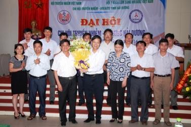 Thành lập Chi Hội Truyền nhiễm - HIV/AIDS tỉnh Hải Dương