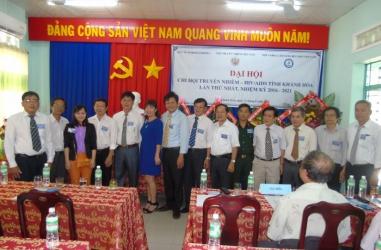 Chi hội Truyền nhiễm – HIV/AIDS tỉnh Khánh Hòa - Đại hội thành lập