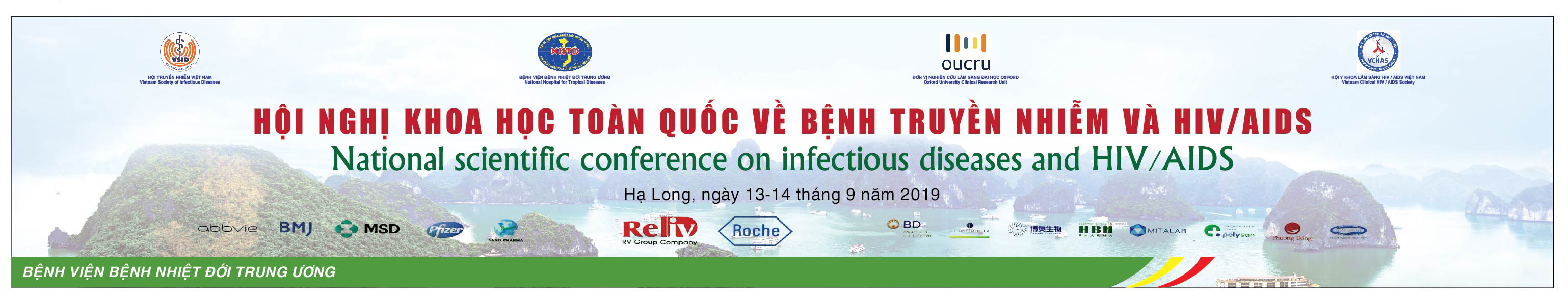 NATIONAL SCIENTIFIC CONFERENCE ON INFECTIOUS DISEASES AND HIV/AIDS IN 2019