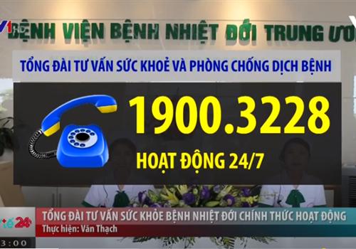 Khai trương tổng đài tư vấn sức khỏe 19003228